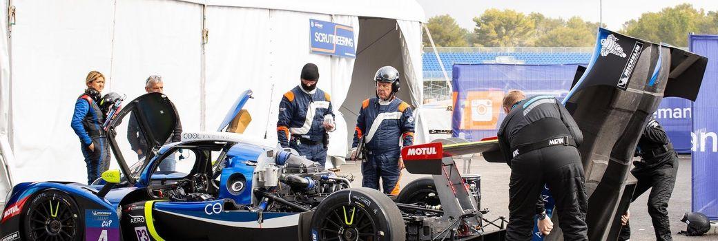 Conception d'un stand pour les essais FIA ELMS
