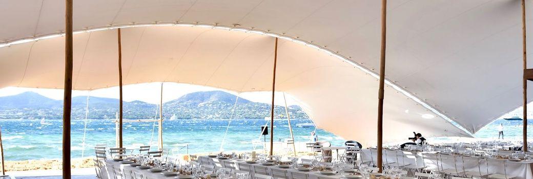Mariage sur la plage à St Tropez