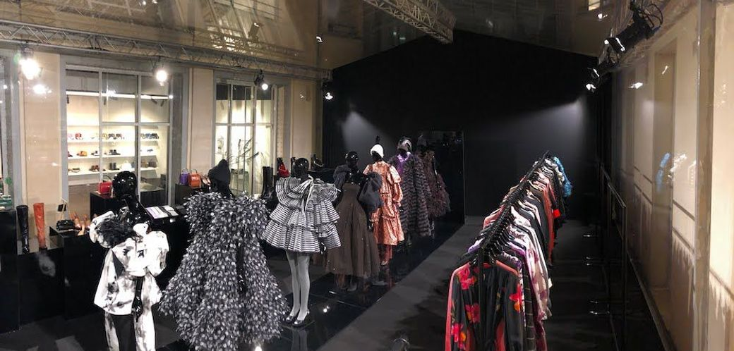 Défilé de mode, shooting et tournage