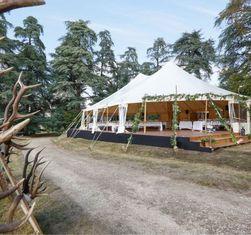 Atawa location chapiteau bambou en Indre et Loire