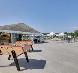 Atawa location de chapiteaux pour inauguration de produits