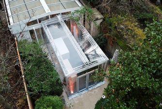 Atawa extension temporaire d'une maison à Paris pour Noel