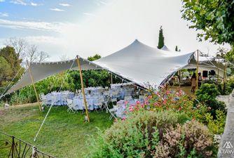 Atawa location d'une tente stretch nomade dans le Vaucluse